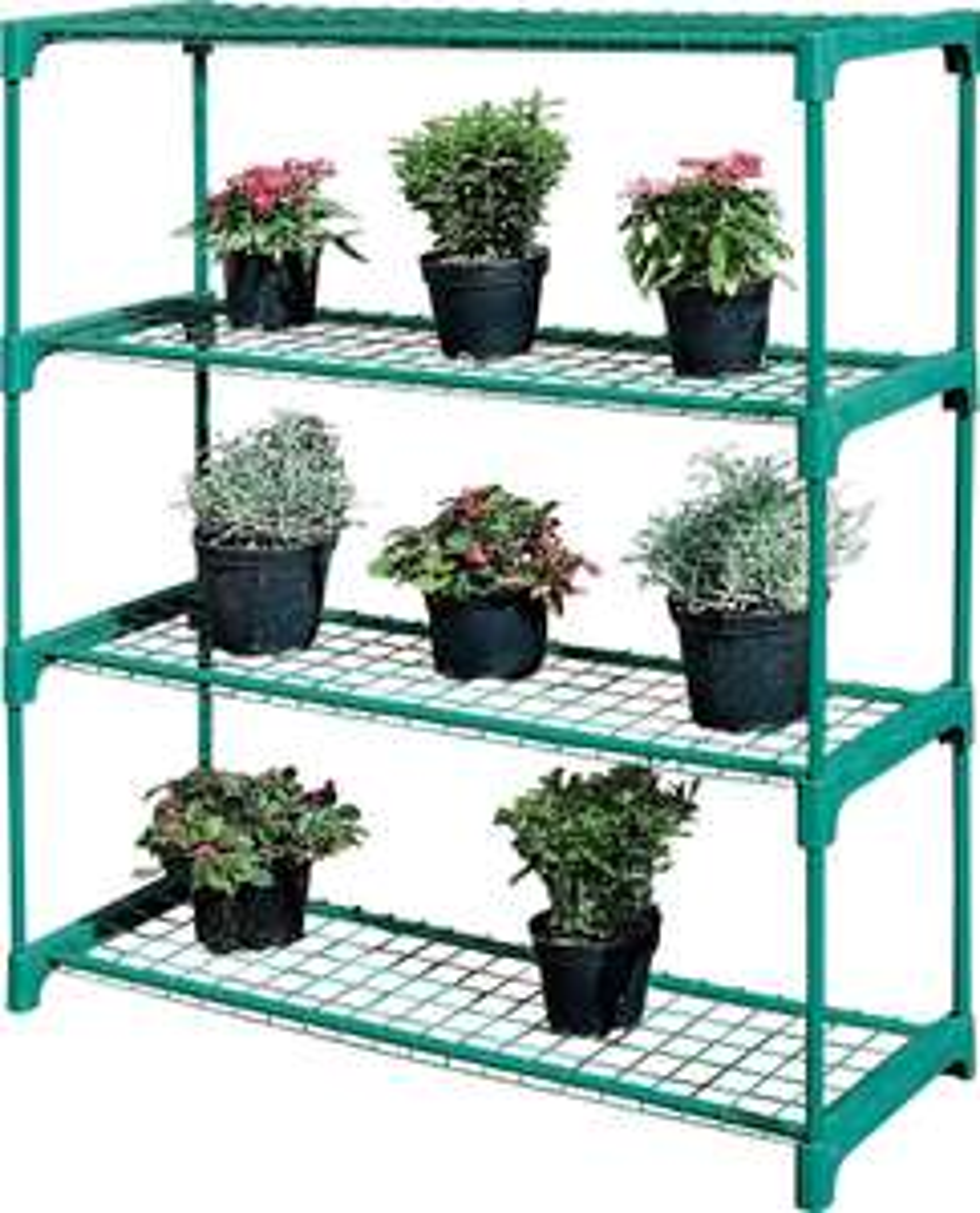 4 Shelf Tubular Greenhouse Shelving x 2 £7.24 @ Argos - Free (C&C)