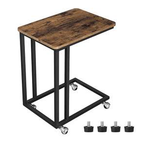 Vasagle End Table - Laptops / Bedroom - With Castors & Feet £20.89 Delivered Sold by Songmics and Fulfilled by Amazon