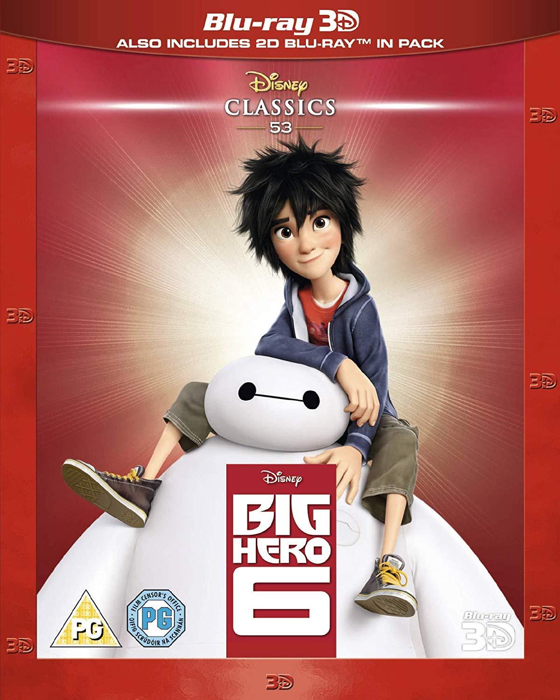 Big Hero 6 (3D + 2D Blu-Ray) £2 @ Poundland