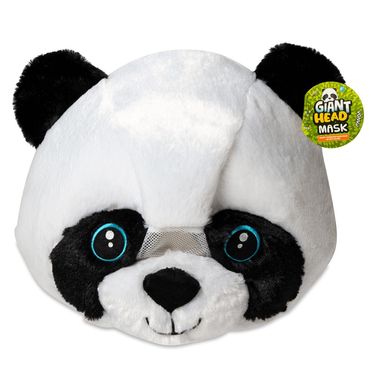 Plush Panda Head Mask now £10 @ Thetoyshop.com Free c&c