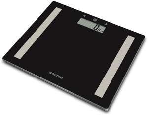 Salter Compact Glass Analyser Scales - Black - £7.50 @ Argos (+15 years guarantee)