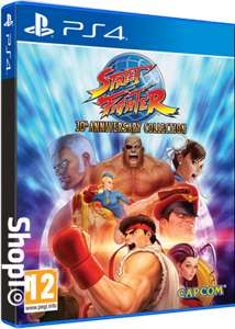 [PS4] Street Fighter 30th Anniversary Collection £12.85 delivered @ Shopto