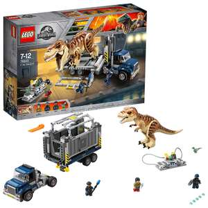 LEGO 75933 Jurassic World T. rex Dinosaur now £39.99 delivered at Amazon