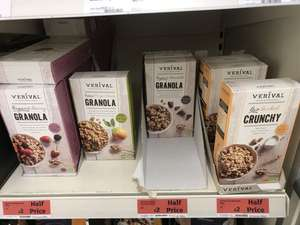 Granola with organic chocolate half price in Sainsbury's - £2