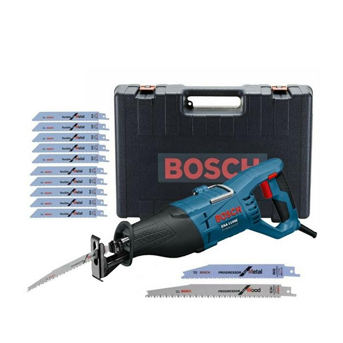 Bosch GSA1100E 110v Sabre Reciprocating Saw + 20 Blades and Case £79 Delivered @ eBay / buyaparcel-store