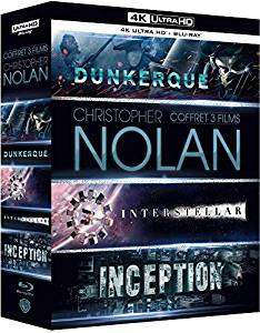 Nolan 4K Blu-ray 3 film collection - £22.49 @ Amazon France