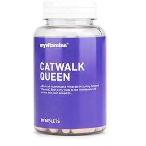 My Vitamins Catwalk Queen 60 Tablets @ Superdrug (Free C&C & 3 For 2)