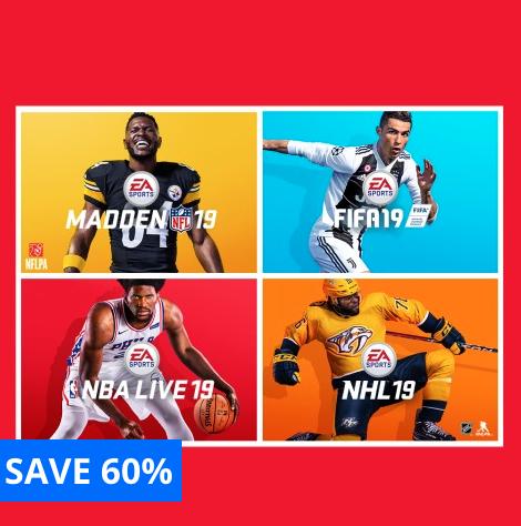 EA SPORTS™ 19 Bundle £44.99 @ PlayStation Store