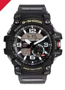 Casio G-Shock Men's Mudmaster Black Resin Strap Watch £135 Delivered with code @ H Samuel