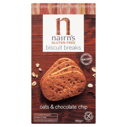 Nairn's Gluten Free chocolate chip biscuits £1 @ Tesco