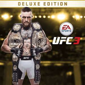 EA Sports UFC 3 Deluxe Edition  PS4 -  £15.99 @ PlayStation Store