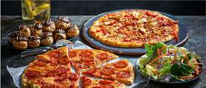 £10 Pizza Meal Deal  - TWO Pizzas, 1 Side, 1 Dessert - at M&S
