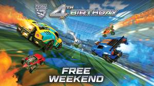 Rocket League - Free Play Weekend for Steam and XBox (10-15 July)