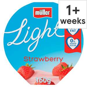 Any 12 Muller Yogurts for £4.00 or 68p each @ Tesco