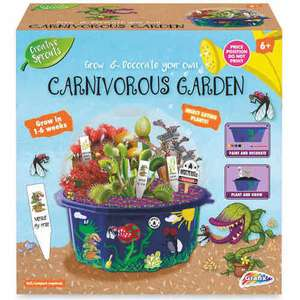 Grow Your Own Carnivorous Garden - £3.99 at ALDI instore and online (Dinosaur, Fairy and Unicorn varieties also)