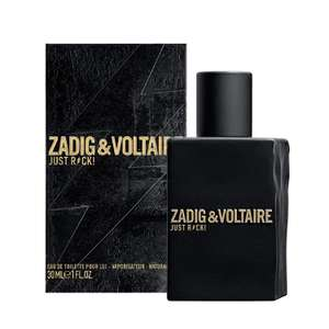 Zadig & Voltaire Just Rock Men EDT, 30 ml £21.82 @ Amazon