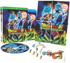 Dragon Ball Super: Broly - Collector's Edition [Blu-ray] for £9.99 Delivered, Sold and Dispatched by The Entertainment Store @ Amazon UK
