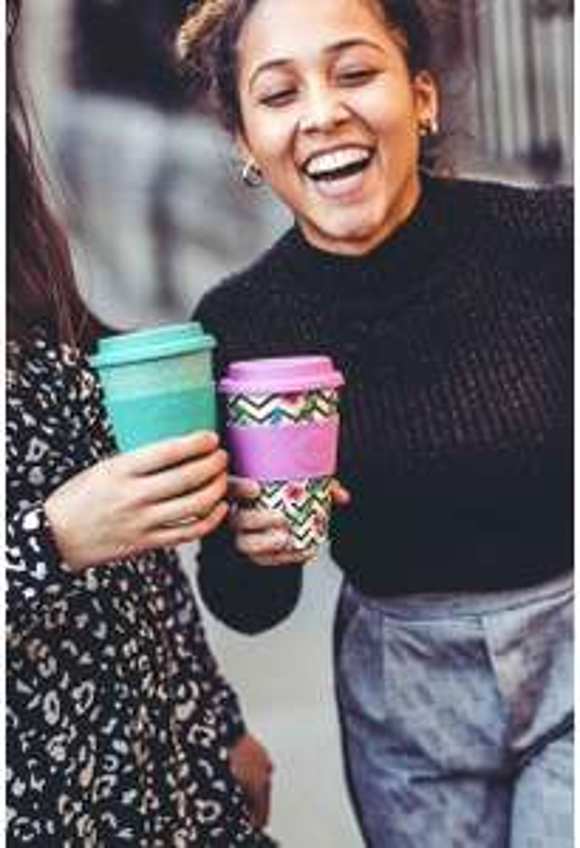 Bamboo fibre Reusbale coffee cup £7.54 Prime / £12.03 Non Prime @ Amazon