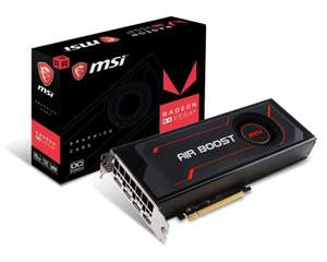 MSI Radeon RX VEGA 64 Air Boost 8GB OC HBM2 Graphics Card plus 3 months Xbox pass £299.99 @ Ebuyer