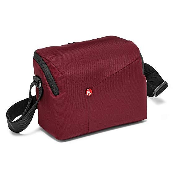 Manfrotto NX Camera Shoulder Bag II for DSLR Kit - Bordeaux Red - Sold by SmartSalesUK / FBA - £9.99 Prime / £14.48 non-Prime