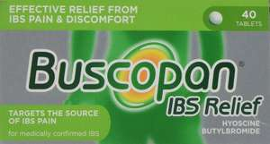 Buscopan IBS Relief, Pack of 40 Tablets now £4 (Prime) + £4.49 (non Prime) at Amazon