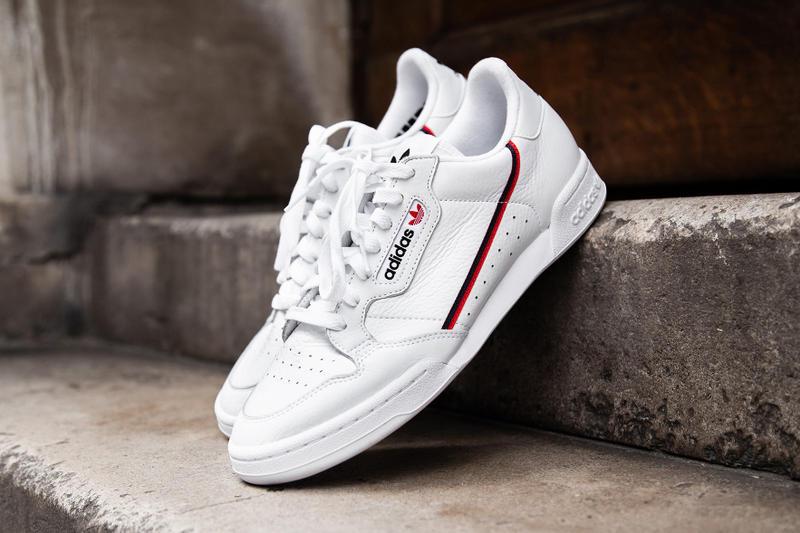 adidas Originals Continental 80 Trainers White @ ASOS - £60