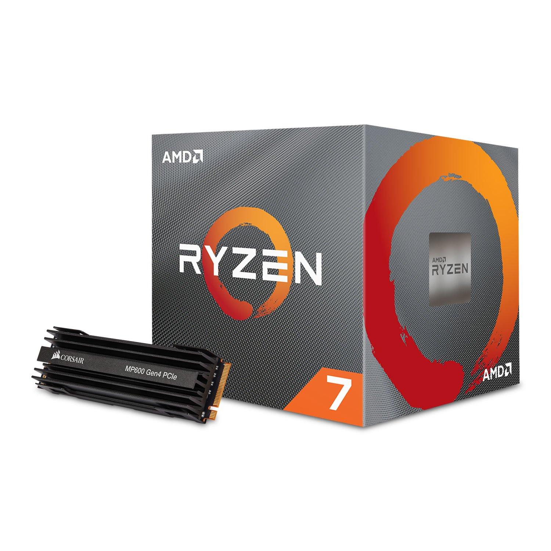 AMD Ryzen 7 3700X + Corsair 1TB MP600 Pcie 4.0 M.2 ssd £564.98 @ Scan