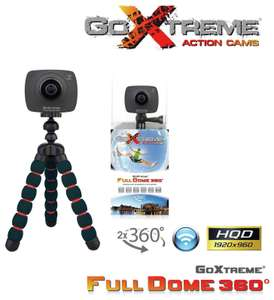 GoXtreme Full Dome 360 Action Cam, WIFI, 1080p, Clearance Item, Free P+P £11.99 @ Argos ebay