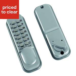 Codelocks Powder coated Push button lock £25 at B&Q-free C&C