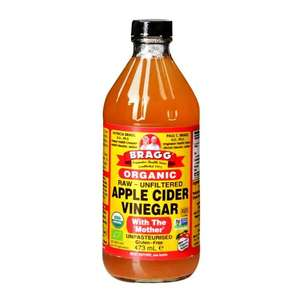 Bragg Organic Apple Cider Vinegar with The Mother (473ml) £3.49 @ H&B