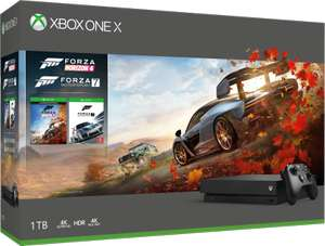 Xbox One X Forza Horizon 4 Bundle - £349.99 online and in-store at Microsoft Store