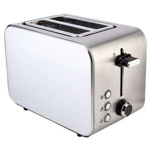 2 slice toaster £4.50 and 4 slice £5.50 at tesco Royston. Herts