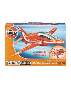 Airfix Quick Build Red Arrow, Spitfire, McLaren, Lamborghini + more £8.99 @ Aldi in store Thurs 11 July or free delivery if spend £20 online