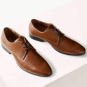 Men Lace-up Derby shoes £5 at M&S - c&c