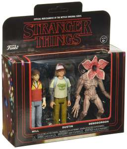 Action Figure: Stranger Things 3PK-Pack £10.99 Amazon sold by OnePack Ltd.