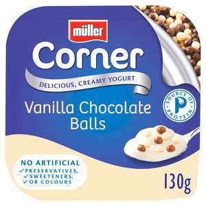 A selection of muller corner yogurts 35p each@ Sainsburys Instore and online
