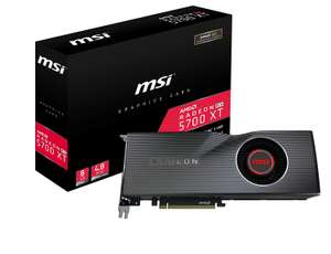 MSI RADEON 5700 XT 8GB GPU Graphics Card £339.98 @ Amazon but dispatched 1-3 month