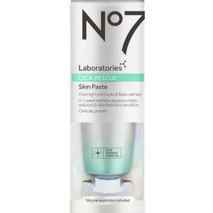 No7 Laboratories Cica Rescue Skin Paste (was £18) Now £8 each or 3 for £16 - plus more No7 Laboratories products £10 off + 3 for 2 @ Boots