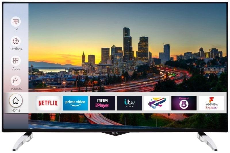 """Celcus 49"""" 4K Ultra HD Smart TV £306.17 delivered @ ebuyer.com"""