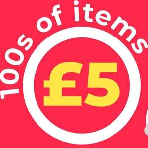 100s of items £5 at Studio - today only - delivery £4.99