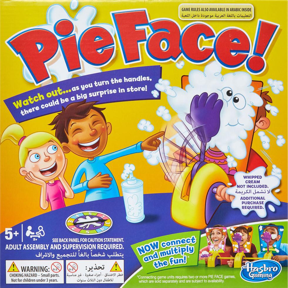 Hasbro Pie Face Game - £3.99 + £1.99 c&c / £3.99 p&p - TK Maxx
