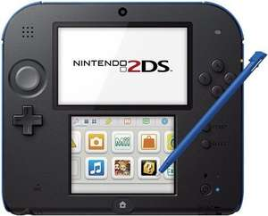 Nintendo 2DS Console Black/Blue Discounted just £40 @ CeX (+£1.50 for online orders) + 2 years warranty
