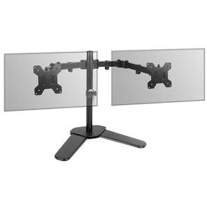 Dual Arm Monitor Stand £14.99 (+ £1.99 Delivery) @ Shop4World