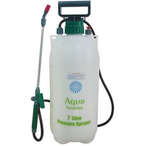 Pressure Sprayer - 7L - Now Only £4.90 @ Homebase Res & Collect
