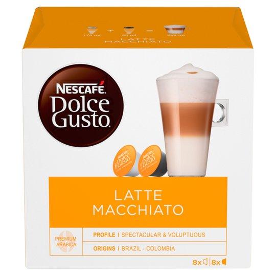 Nescafe Dolce Gusto Latte Macchiato Pods - £2 @ Heron Foods