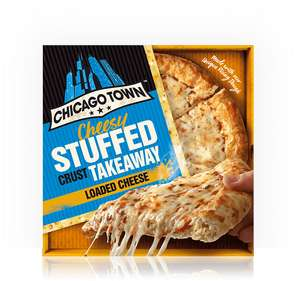 Chicago Town pizza - £2.75. -  Large size 630 gr instore @ ASDA