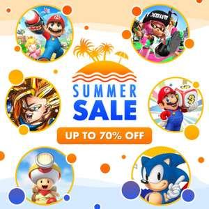 HUGE Nintendo eShop Summer Sale! Up to 70% off (Nintendo Switch / Nintendo 3DS / WiiU)