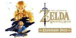 The Legend Of Zelda: Breath Of The Wild Expansion pass (Nintendo Switch) - £12.59 at Nintendo Shop