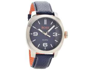 Hugo Boss Cape Town Blue Leather Strap Watch - £49.50 delivered @ F.Hinds