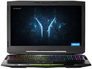 Medion Erazer X6805 laptop  GTX 1060 6gb15in Core i5 8GB 256GB SSD 1TB HDD Win10 Gaming Laptop £749.99 @ Ebuyer